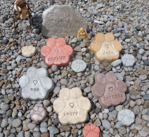 Purchase stones for your memorial garden