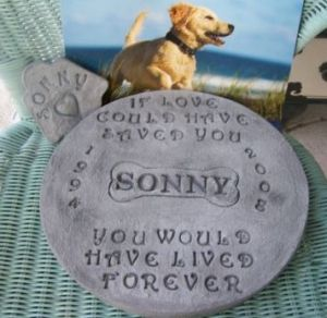 Please purchase memorial stones on Ebay to help rescues